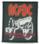 AC/DC - 'For Those About to Rock' Woven Patch